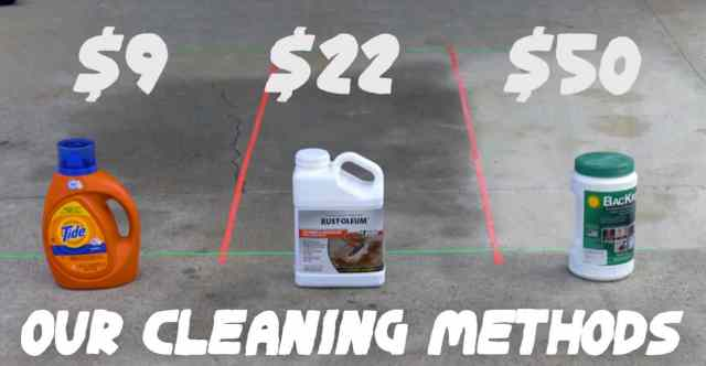 26 DIY Driveway Cleaning Methods to Remove Oil Stains are Tested
