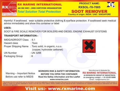soot remover pwd 50 kg manufacturer supplier exporter