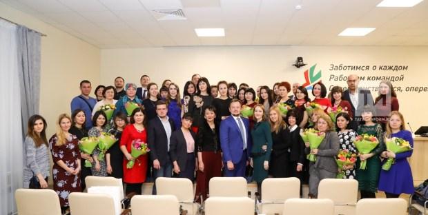 Награждение журналистов на итоговой пресс-конференции минздрава РТ