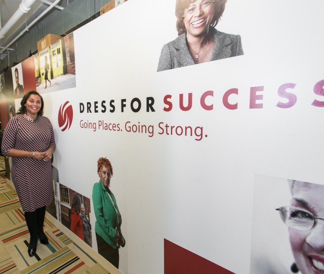 Joi Gordon Ceo Of Dress For Success In Midtown New York On Jan