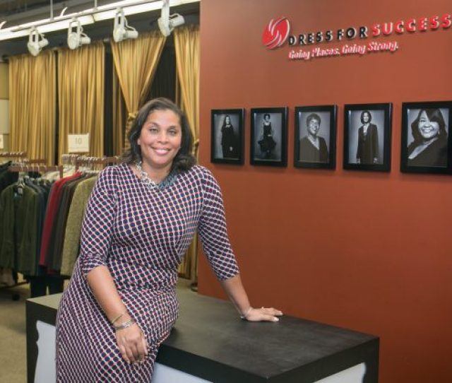 Joi Gordon Ceo Of Dress For Success In Midtown Manhattan On Jan 14