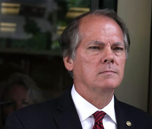 Former Senate Intelligence Committee Security Director James Wolfe Comes Out From The U S District Courthouse After
