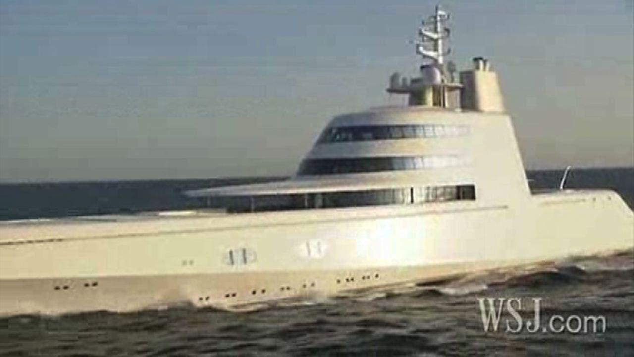 Inside A Russian Billionaires 300 Million Yacht