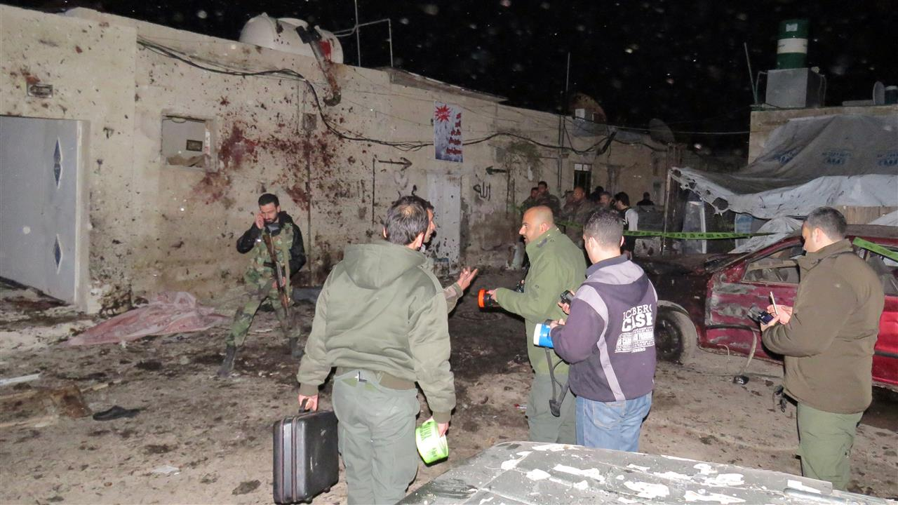 At Least Seven Killed In Damascus Suicide Bombing
