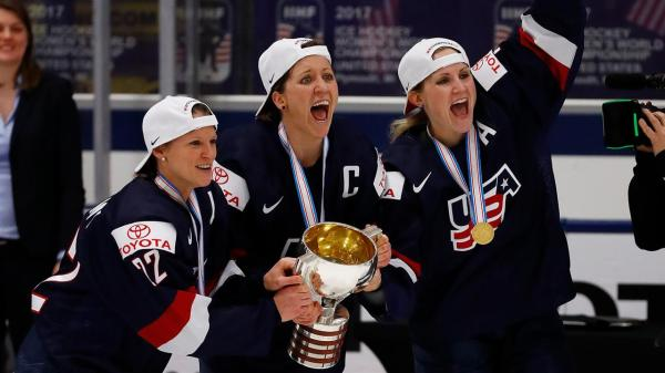 U.S. Women's Hockey Players on Winning Gold and Fair Pay