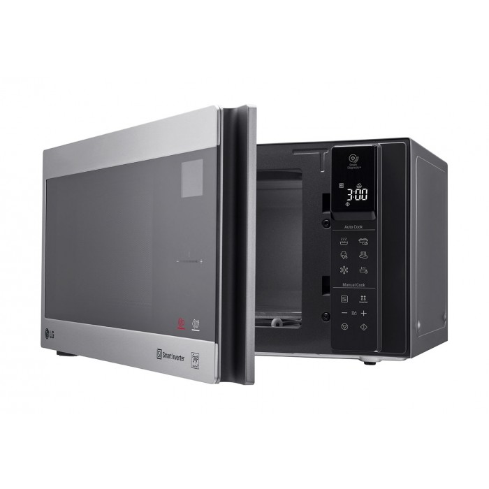 lg neochef 42 liters microwave silver