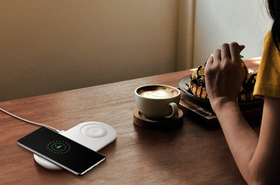 Fast Wireless Charging 2.0 Brings Your Phone Back To Life Faster.