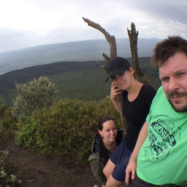 Mt. Longonot summit. 2780m