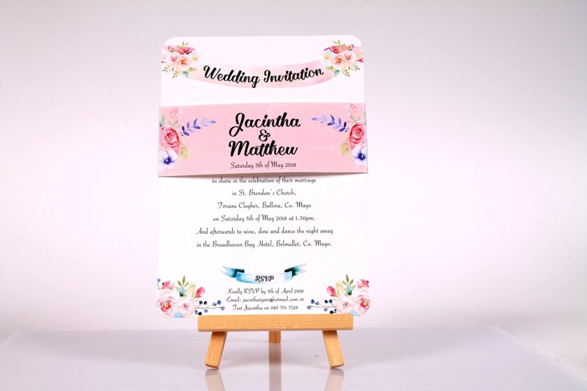 Only On A Few Occasion Over The Last Year Have I Been Asked To Include Their Pa S Names Wedding Invitation Introduction