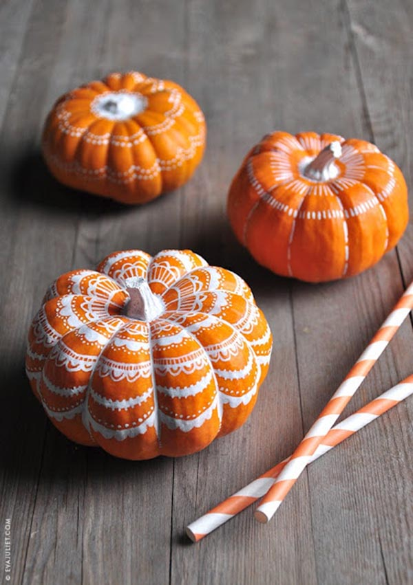 6 Super Cool Ways To Decorate Pumpkins With Black Sharpie Lazy Or Brilliant