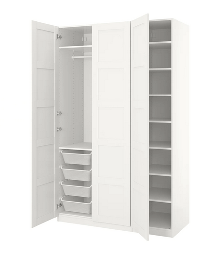 The Ikea Hack That Will Give You A Custom Walk In Wardrobe For A Fraction Of The Price Herfamily Ie