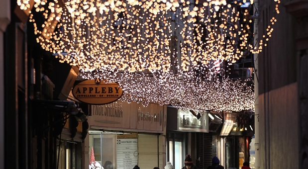 The Dates For When The Christmas Lights In Dublin Are