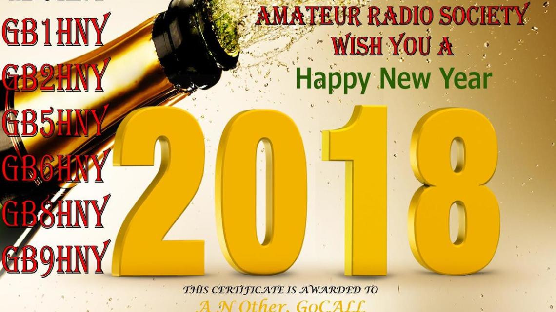 Happy New Year Special Event Station