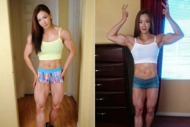 揭韓國金剛芭比:老公是教練 健身致胸縮水