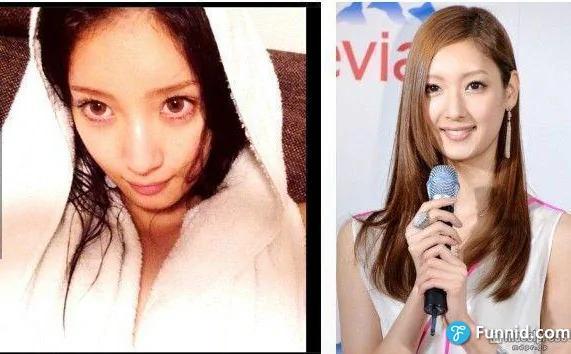 揭曉不化妝更美的日本十大『素顏美女』!