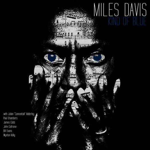 "Miles Davis ""Kind of blue"" album cover. on Behance"