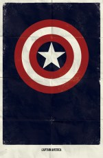 Captain America - Marvel Minimalist - poster