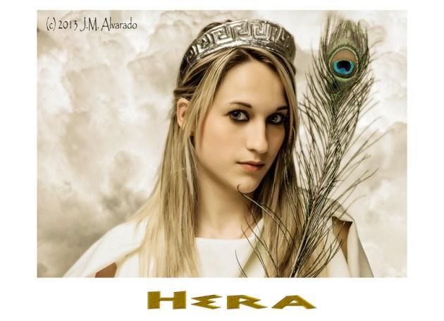 Hera / Juno Hera (juno), celosa esposa de Zeus/Jupiter, diosa del matrimonio y la familia.