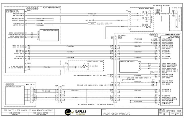 Avionics Integration Wiring Diagrams On Behance