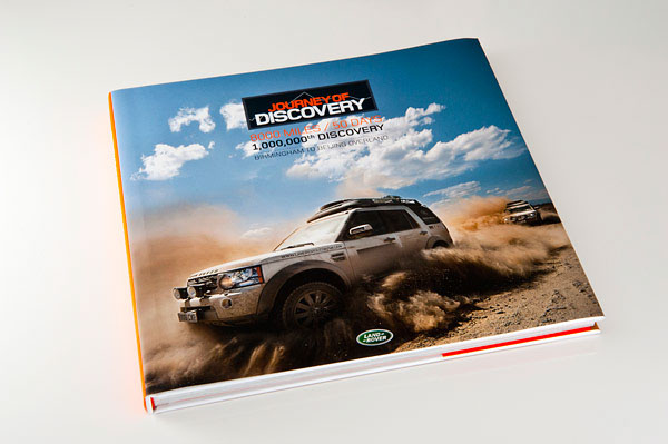 Land Rover - Journey of Discovery book by FP Creative
