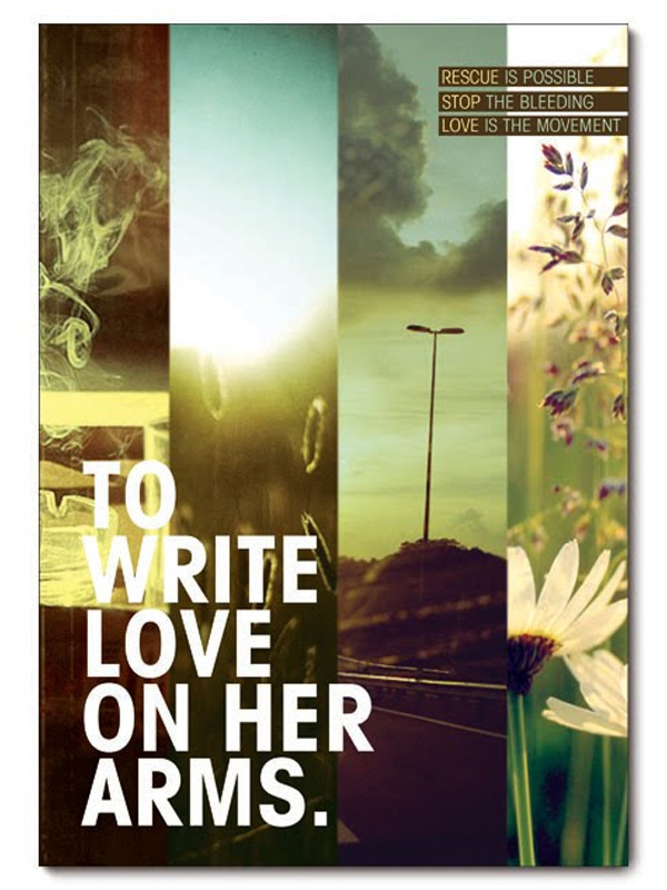 To Write Love on Her Arms on Behance