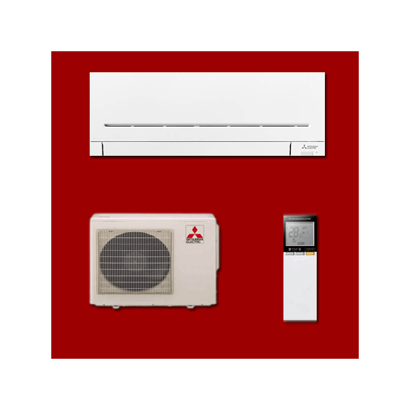 climatisation reversible inverter mono split msz ap35vg muz ap35vg mitsubishi electric