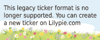 Lilypie 1st Birthday Ticker