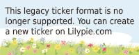 Lilypie 1° comp Ticker