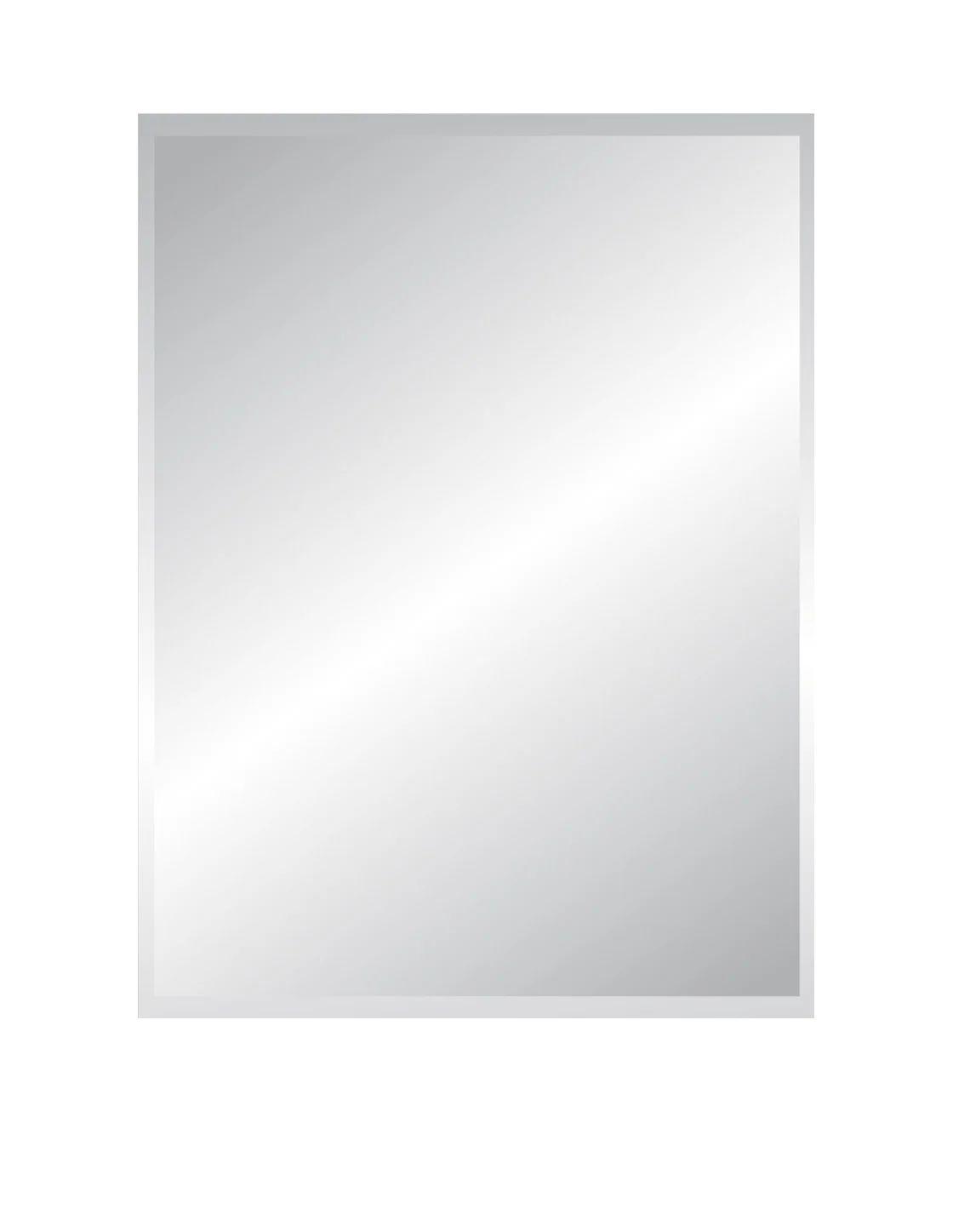 Miroir Non Lumineux Decoupe Rectangulaire L 60 X L 80 5 Cm Biseaute Leroy Merlin