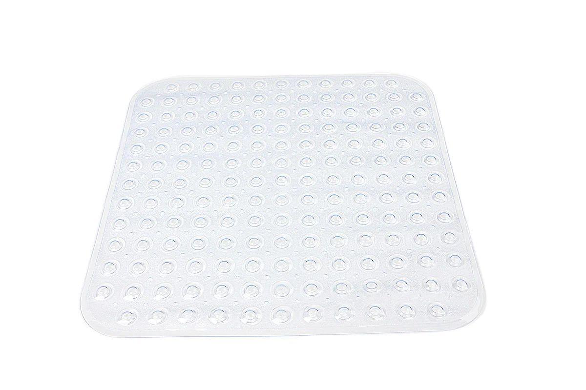 tapis antiderapant transparent pour douche steppy sensea
