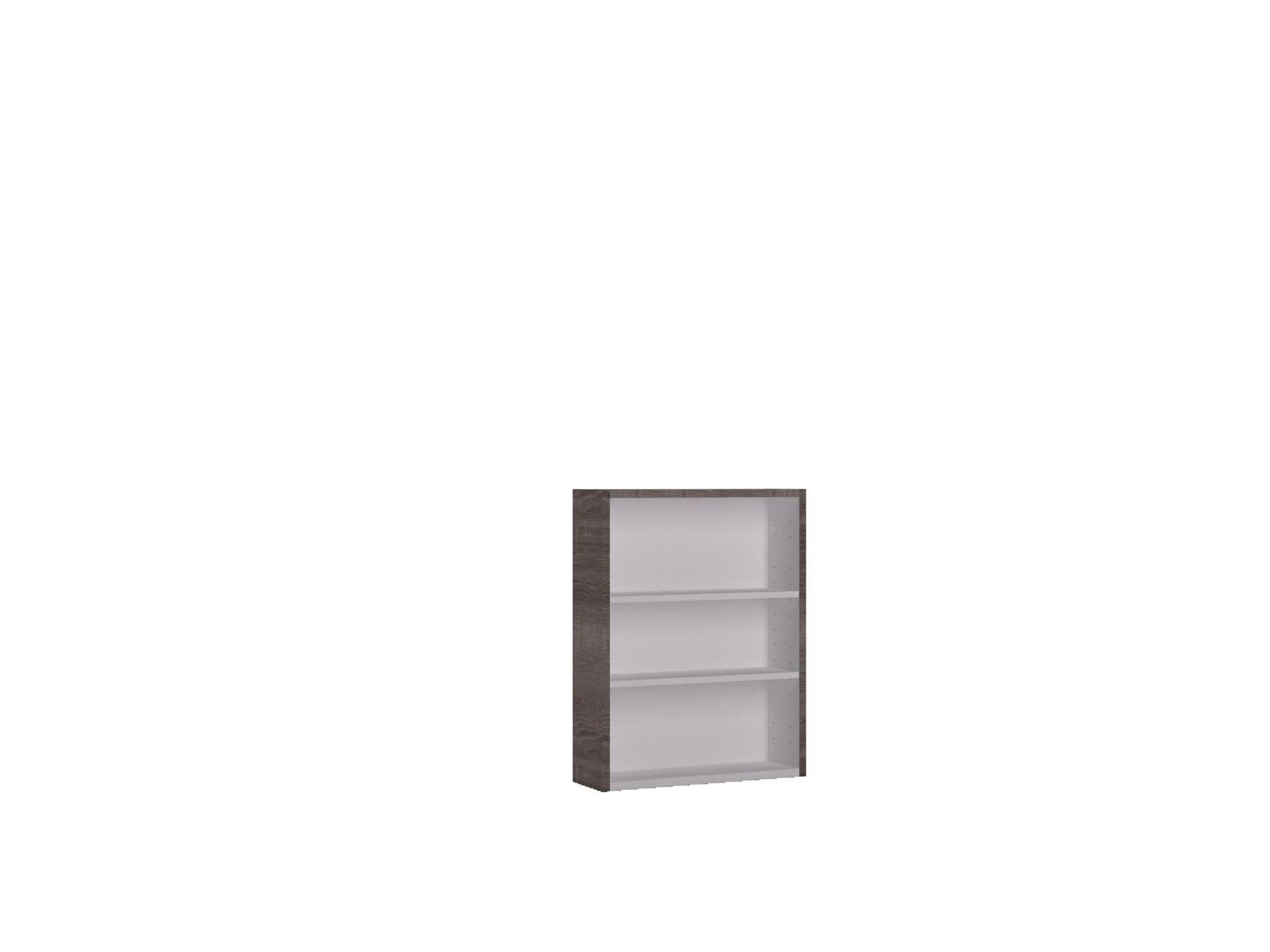 meuble bas l 45 x h 58 x p 20 cm effet chene havane remix