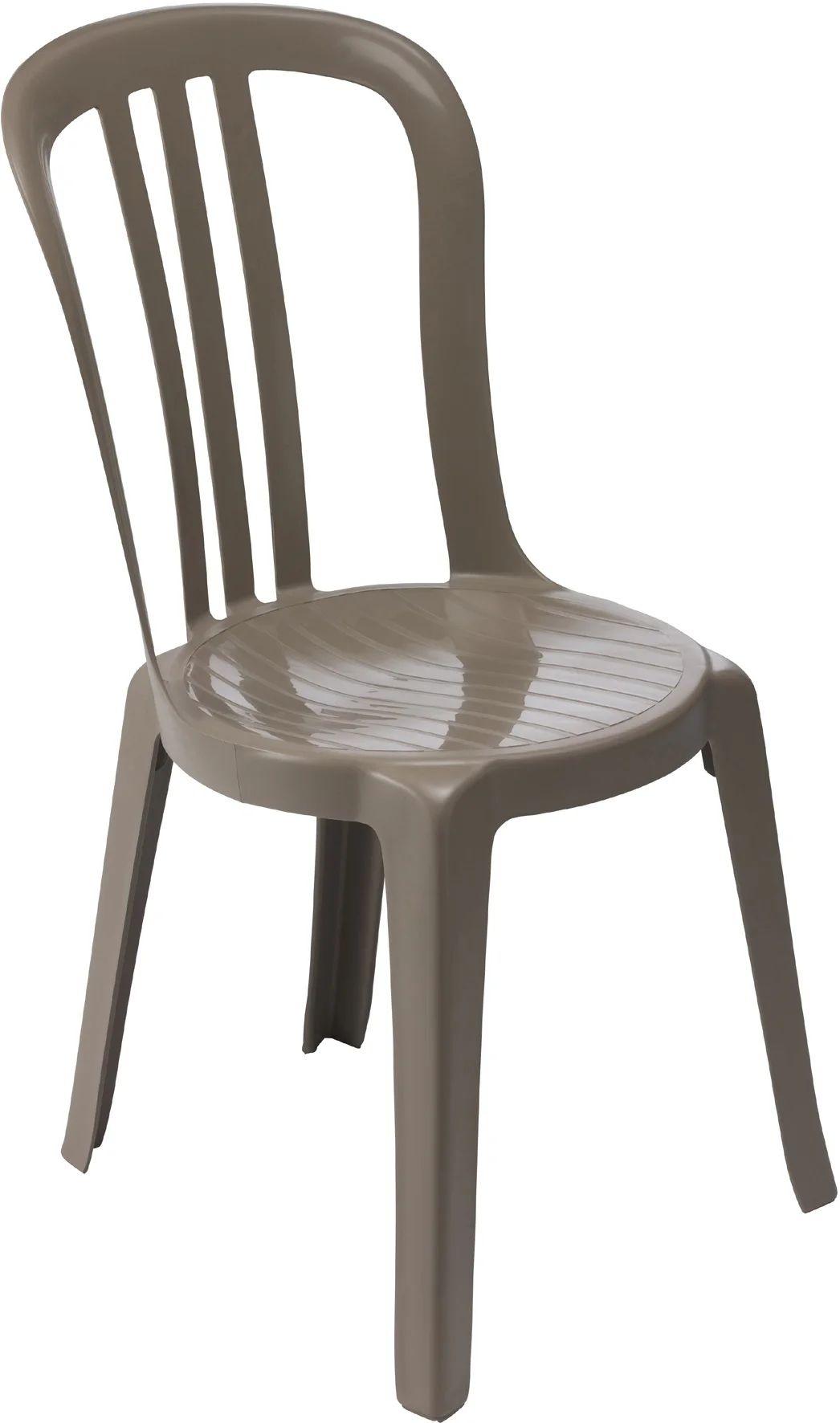 chaise de jardin en resine miami taupe