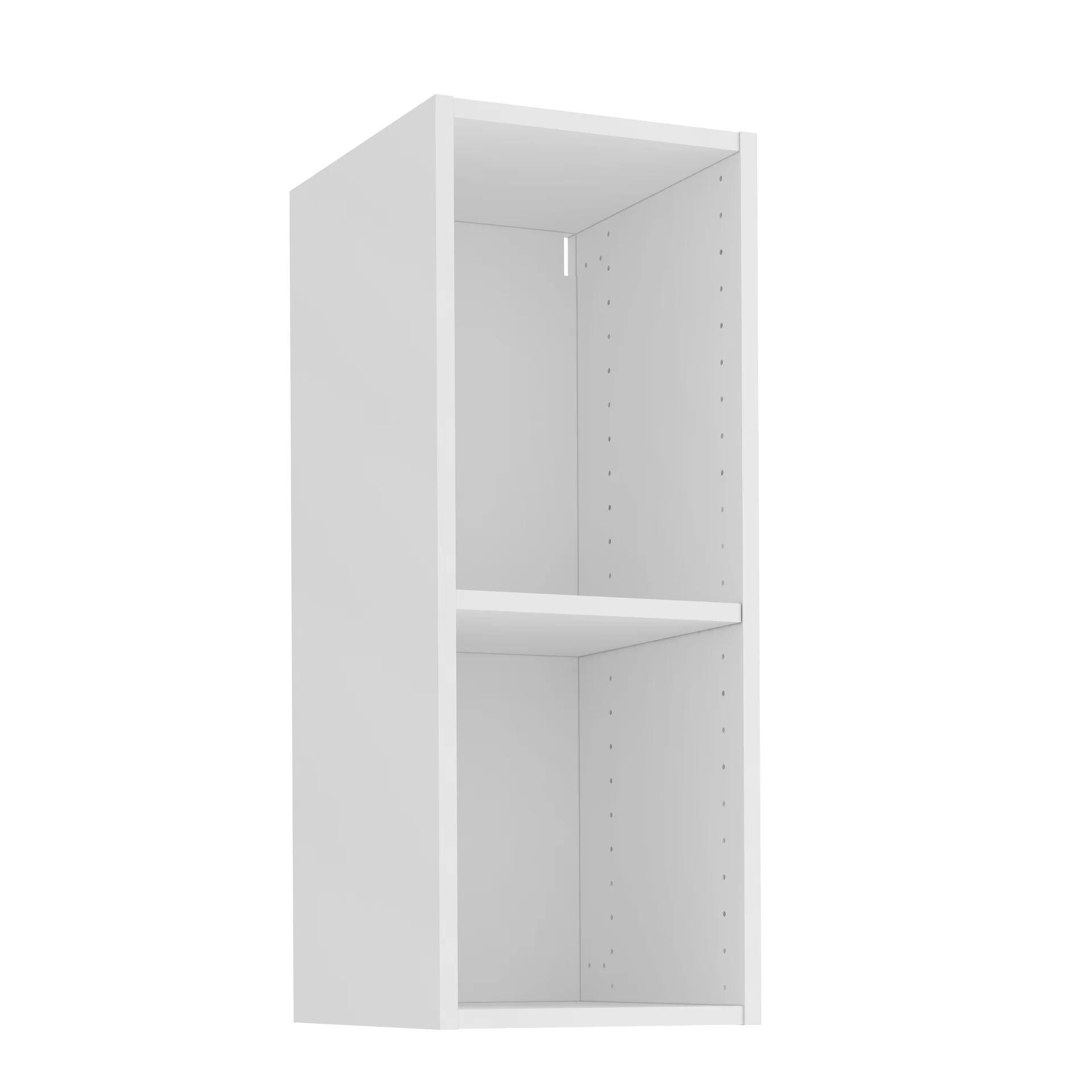 caisson de cuisine haut delinia id blanc h 76 8 x l 30 x p 35 cm