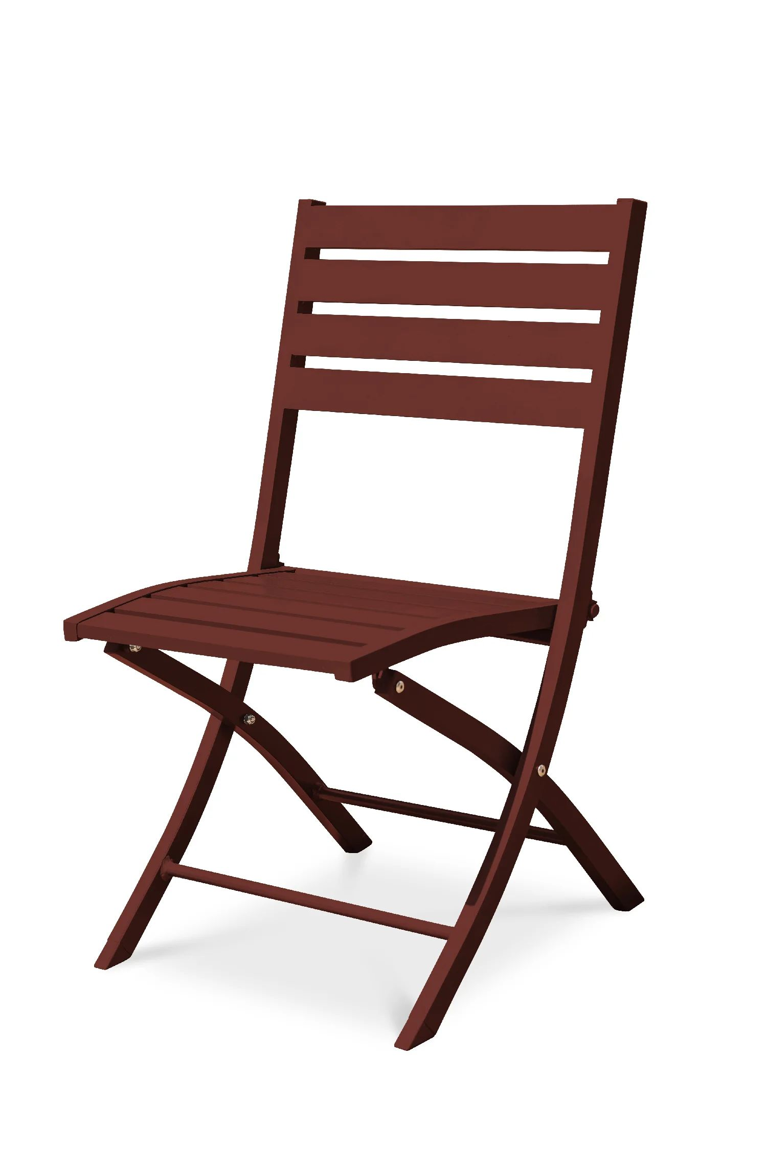 chaise de jardin en aluminium marius carmin