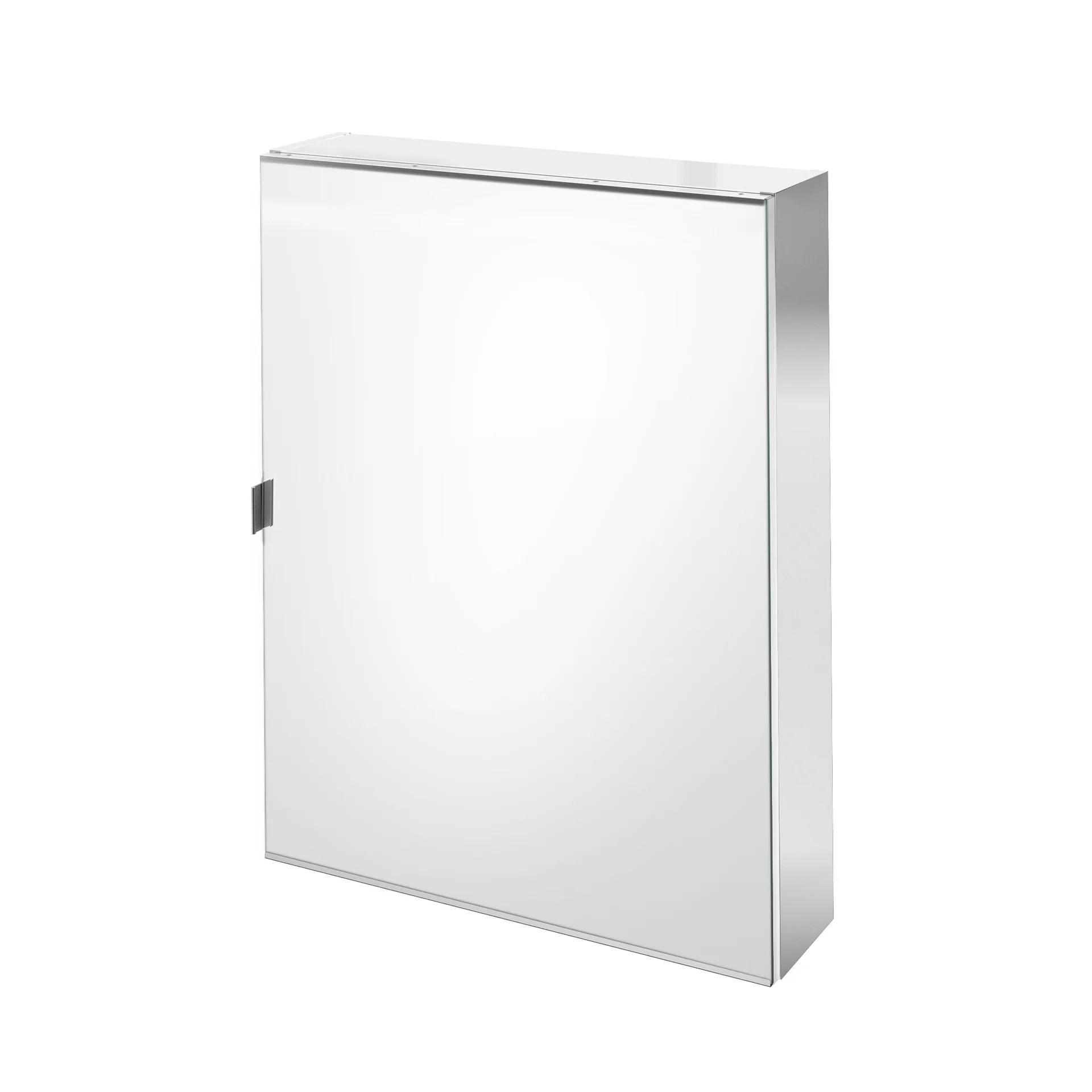 Armoire Miroir Avec Tablettes L 60 Cm Gris Sensea Remix Leroy Merlin
