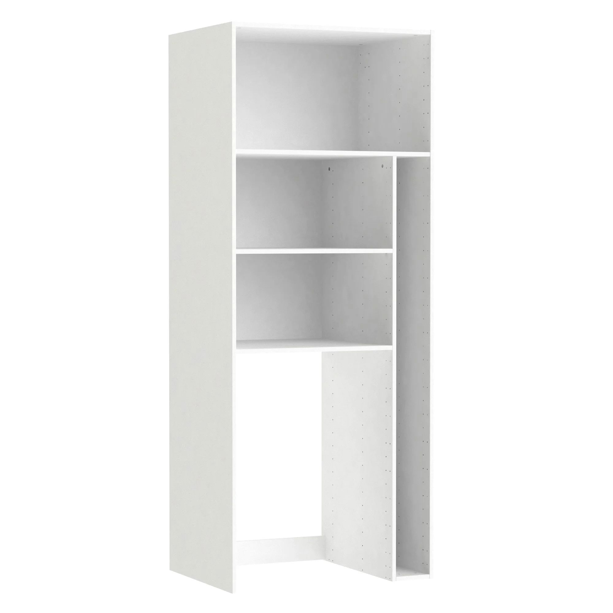 Caisson Buanderie Spaceo Home Blanc H 200 X L 80 X P 60 Cm Leroy Merlin