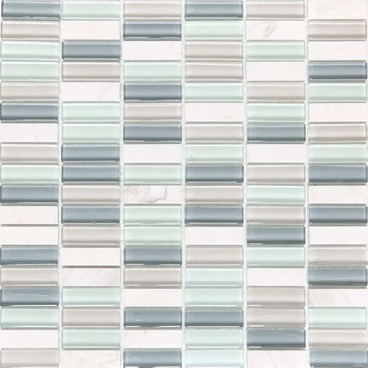 Mosaique Mur Fusion Dove Multicolore Leroy Merlin