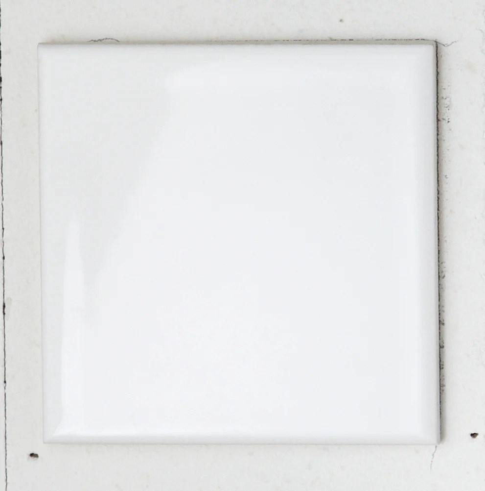 carrelage mur forte uni blanc brillant l 10 x l 10 cm astuce