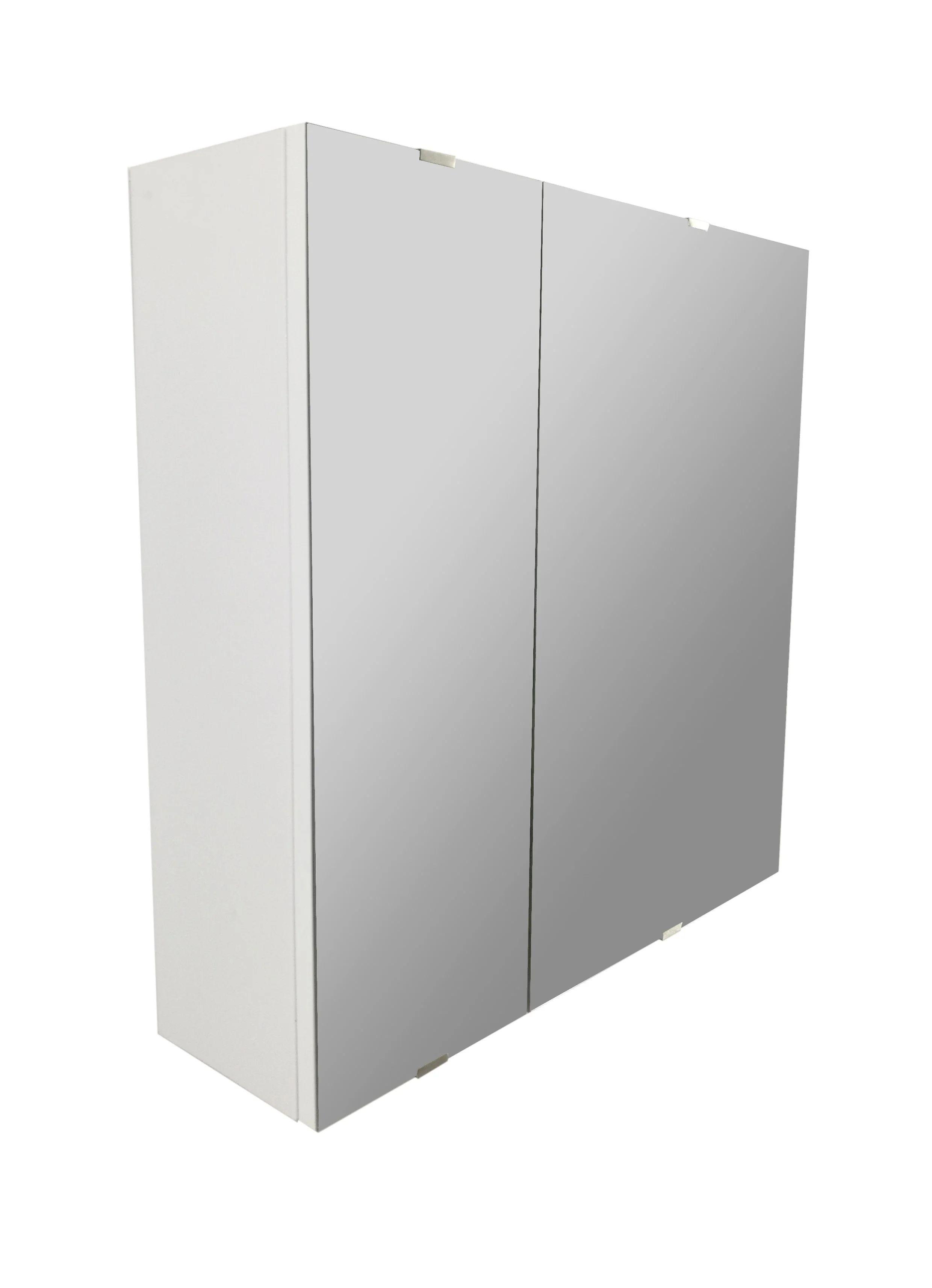 Armoire De Toilette L 58 Cm Blanc Sensea Essential Leroy Merlin