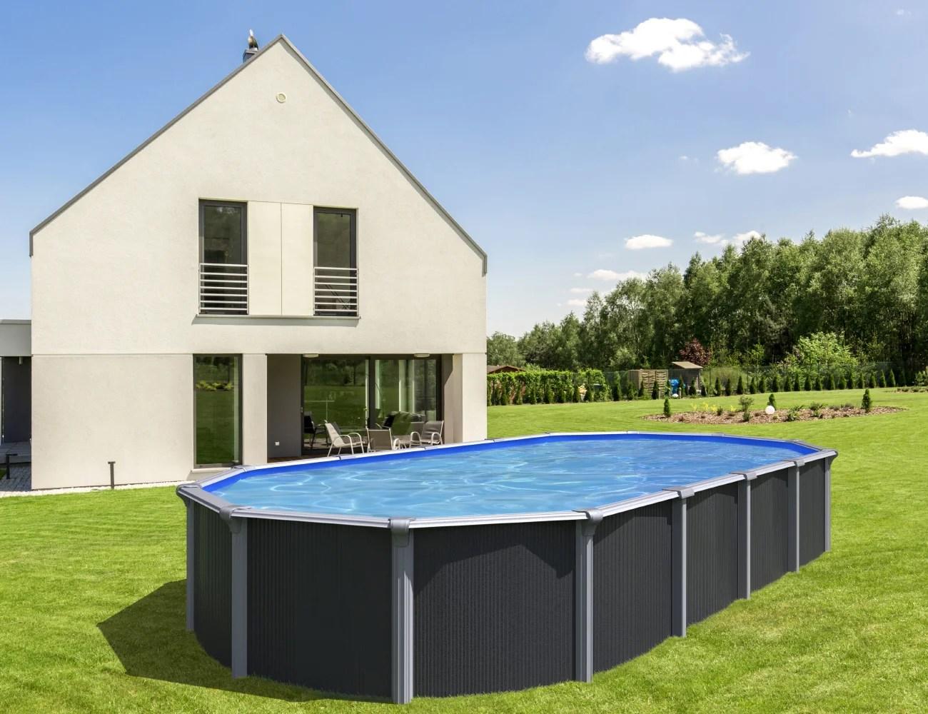 piscine osmose trigano ovale x l de 5 a 7