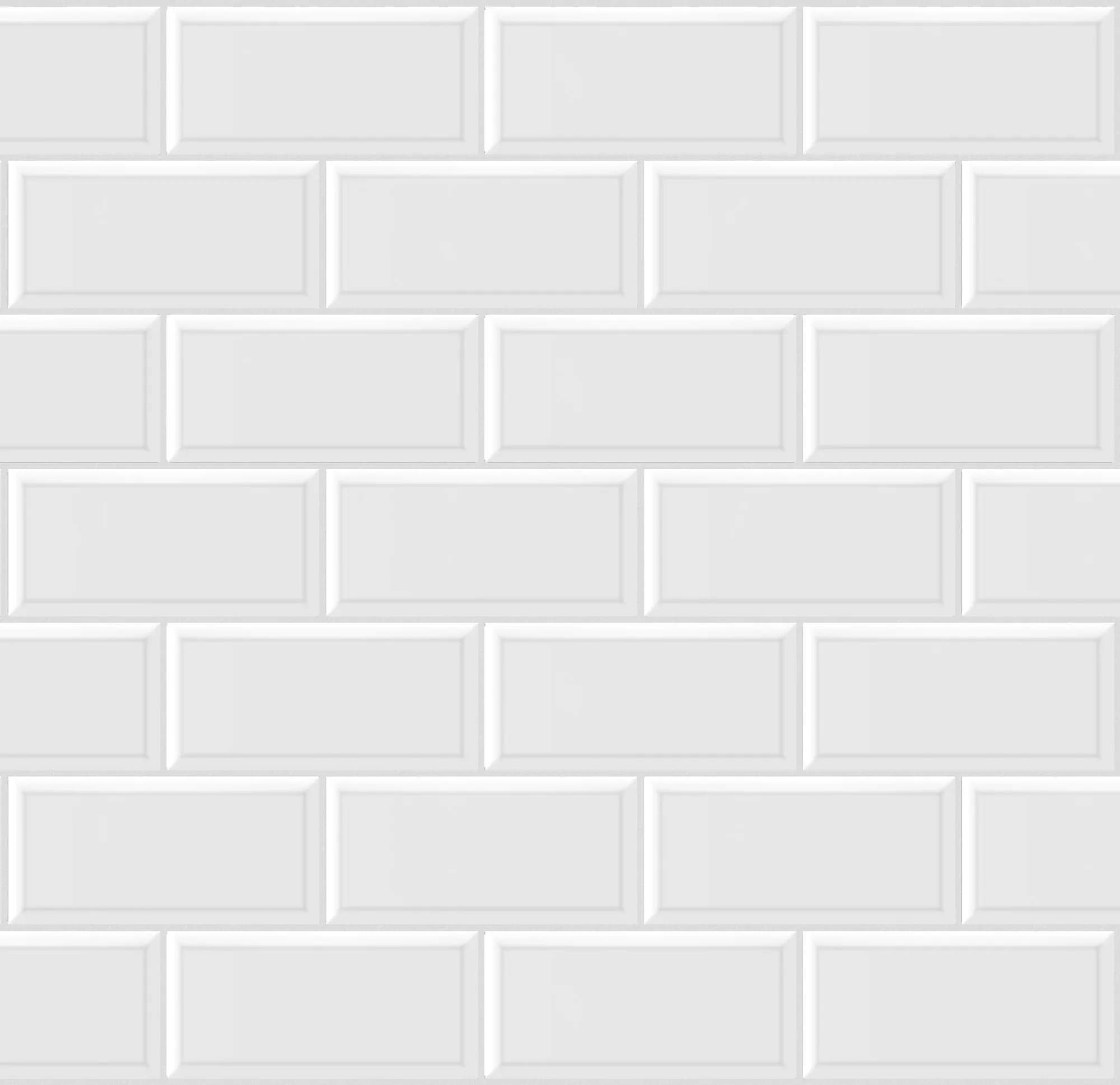 mosaique mur metro blanc 28 8 x 29 25 cm artens