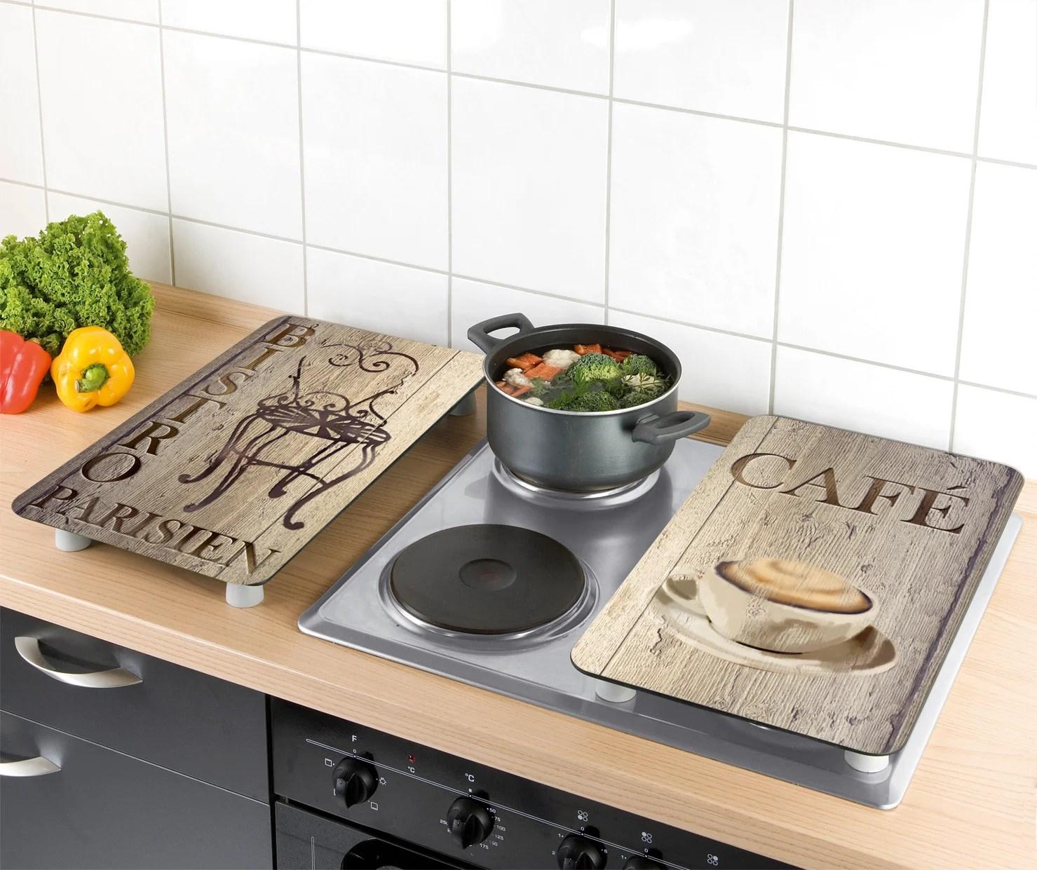 https www leroymerlin fr produits cuisine poubelle tabouret et accessoires de cuisine dessous de plat et planche a decouper plaque de protection en verre avec plateau bistrot 69543691 html