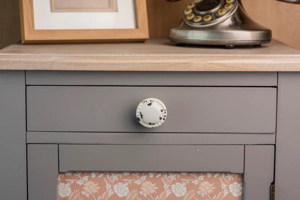 bouton de meuble rond porcelaine creme vieilli h 28 x l 44 x p 44 mm leroy merlin