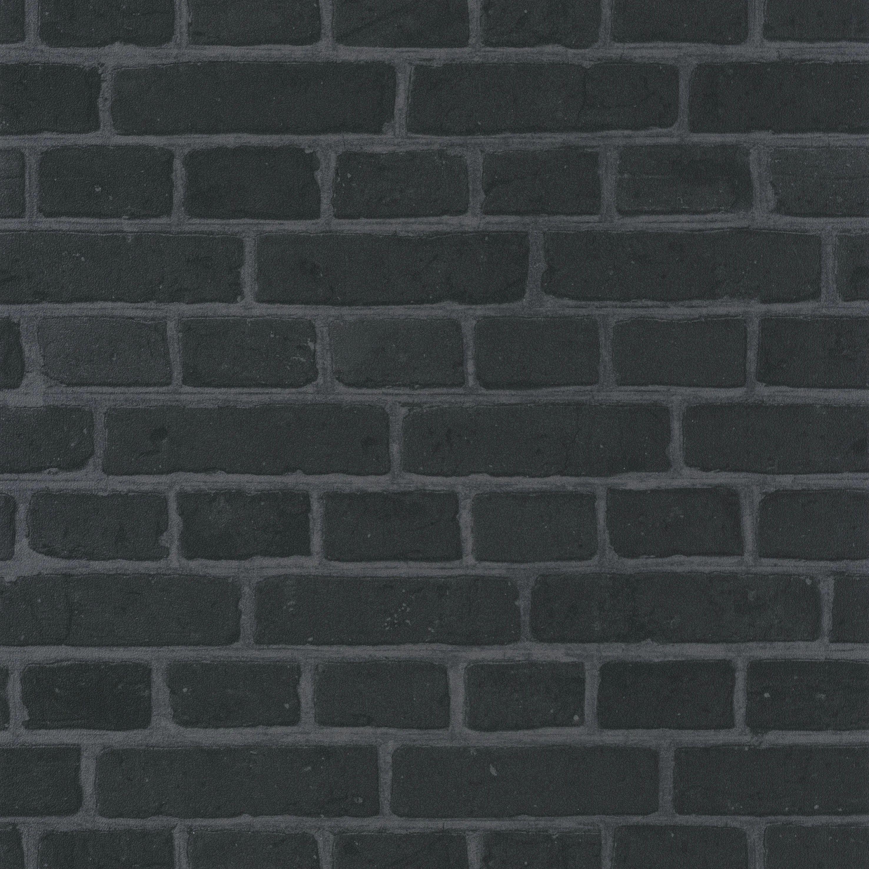 papier peint vinyle au bistrot d alice feuille de brick noir