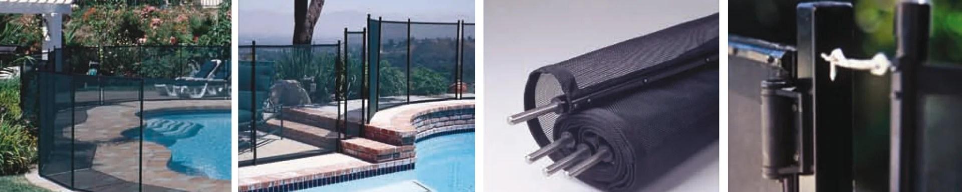 Barriere Pour Piscine Aluminium Transparent Noir H 1 28 X L 366 Cm Leroy Merlin