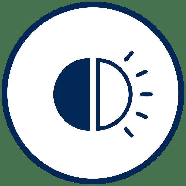 rideau occultant thermique et phonique gris poivre l 145 x h 260 cm moondream
