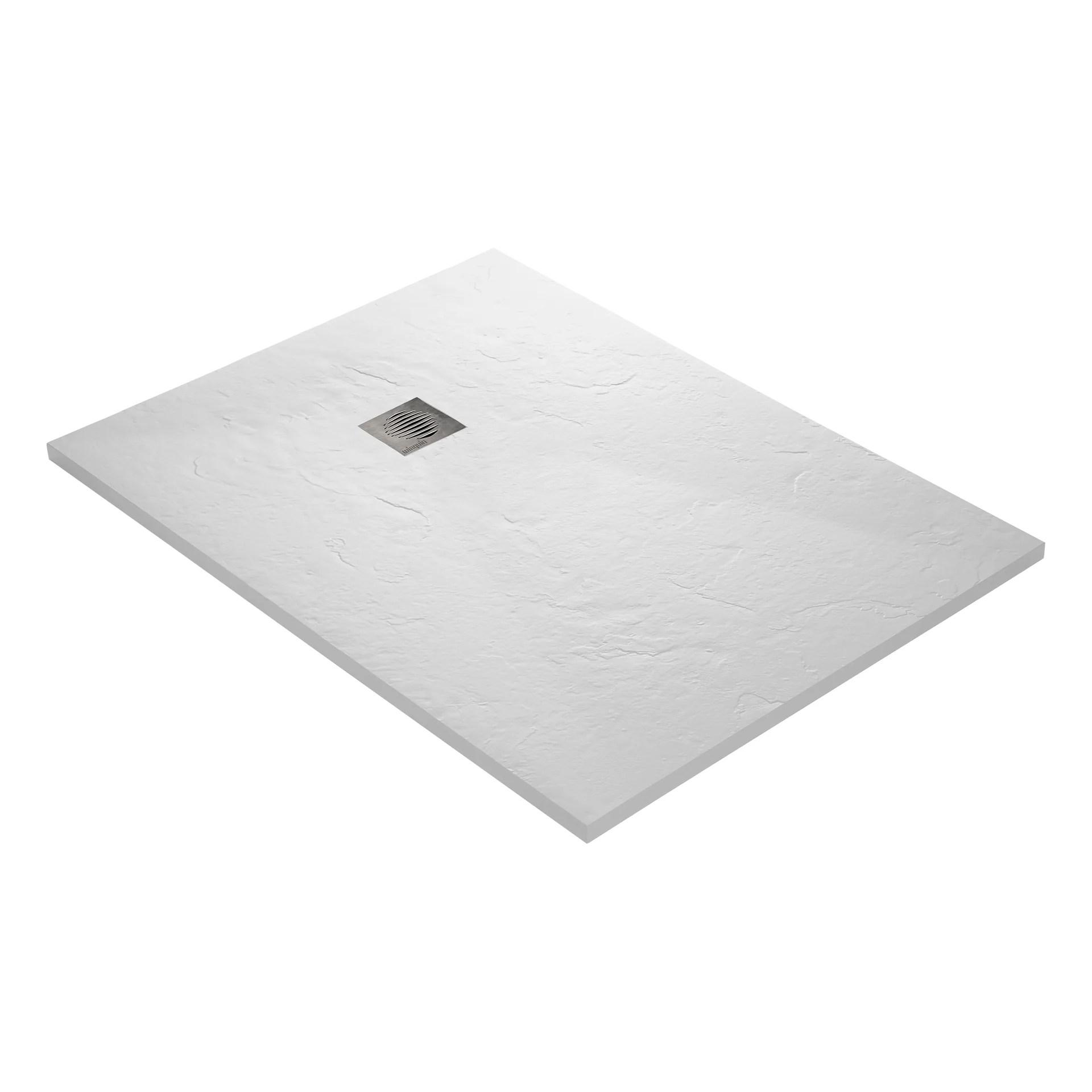receveur douche extra plat resine blanc 120 x 90