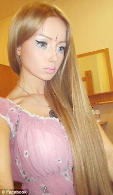 La chica que se convirtió en Barbie