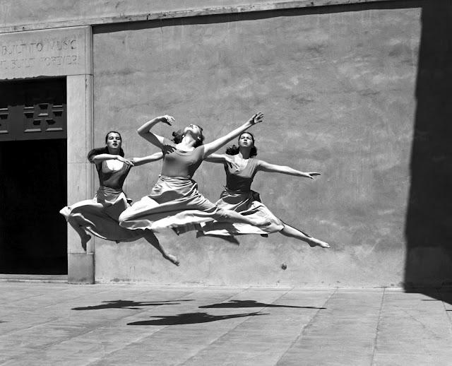 Three Dancers, Mills College,1929   Copyright © The Imogen Cunningham Trust