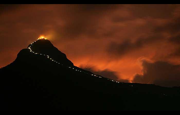 Adams Peak noche